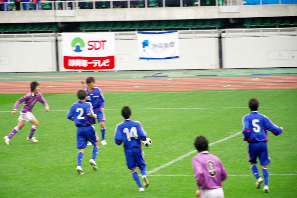 第86回 全国高校サッカー選手権大会 静岡 準決勝_f0007684_11515490.jpg