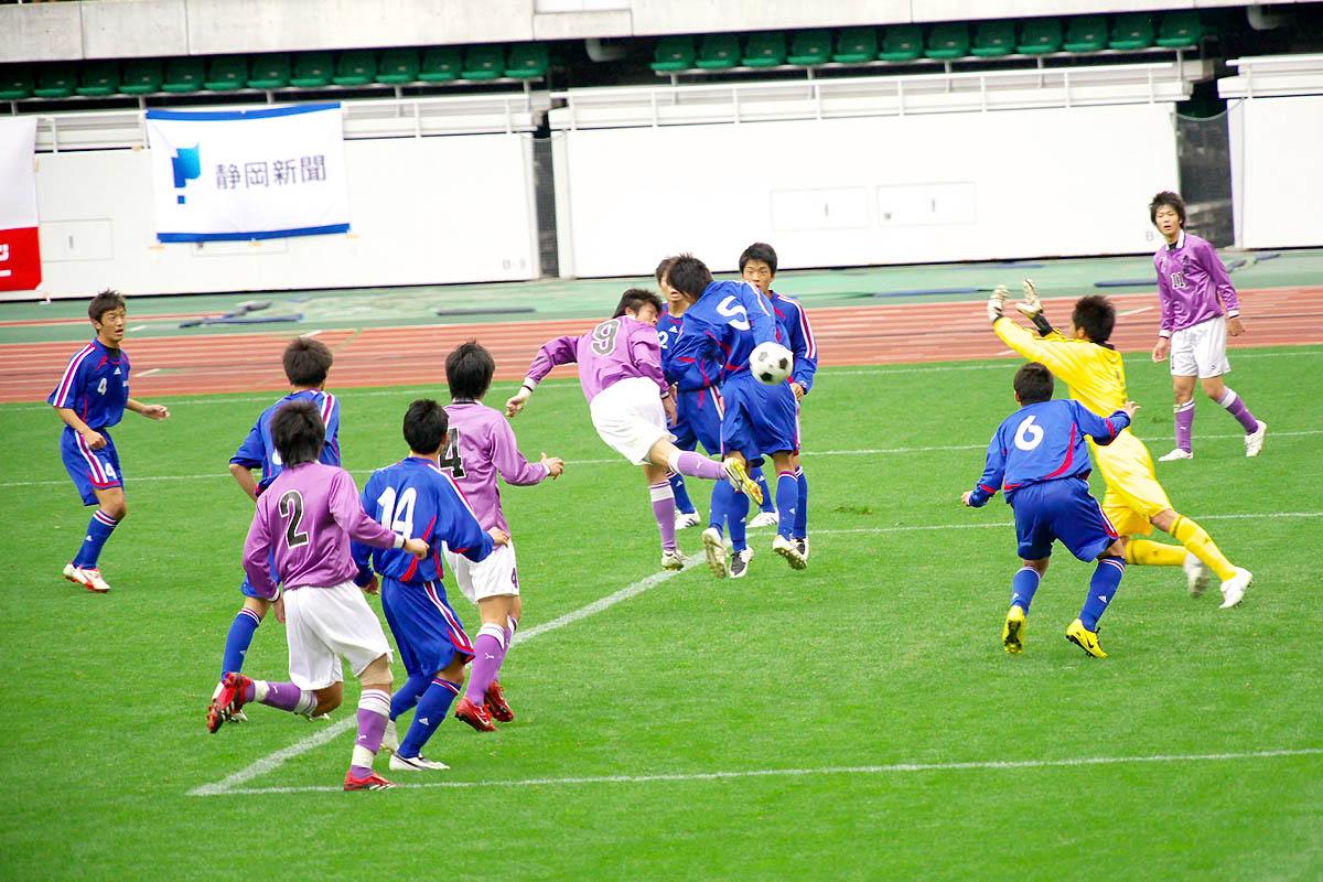 第86回 全国高校サッカー選手権大会 静岡 準決勝_f0007684_11571120.jpg