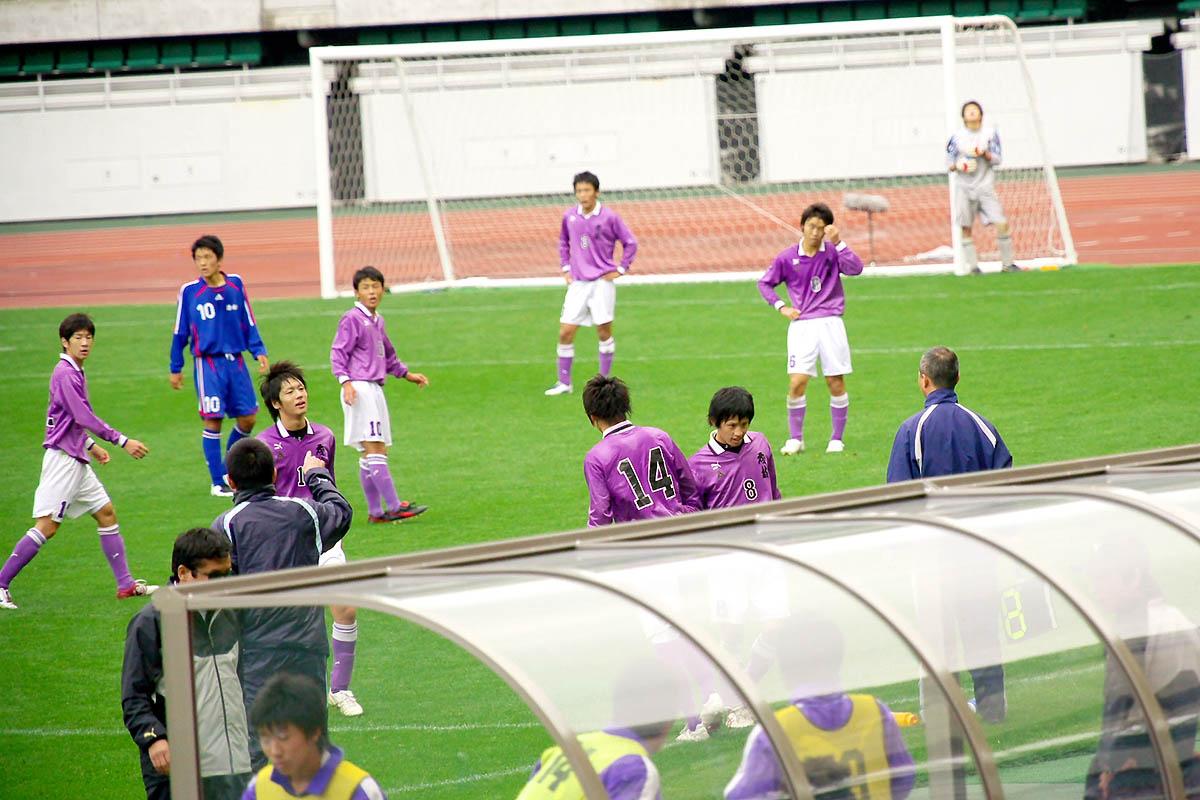 第86回 全国高校サッカー選手権大会 静岡 準決勝_f0007684_1210132.jpg