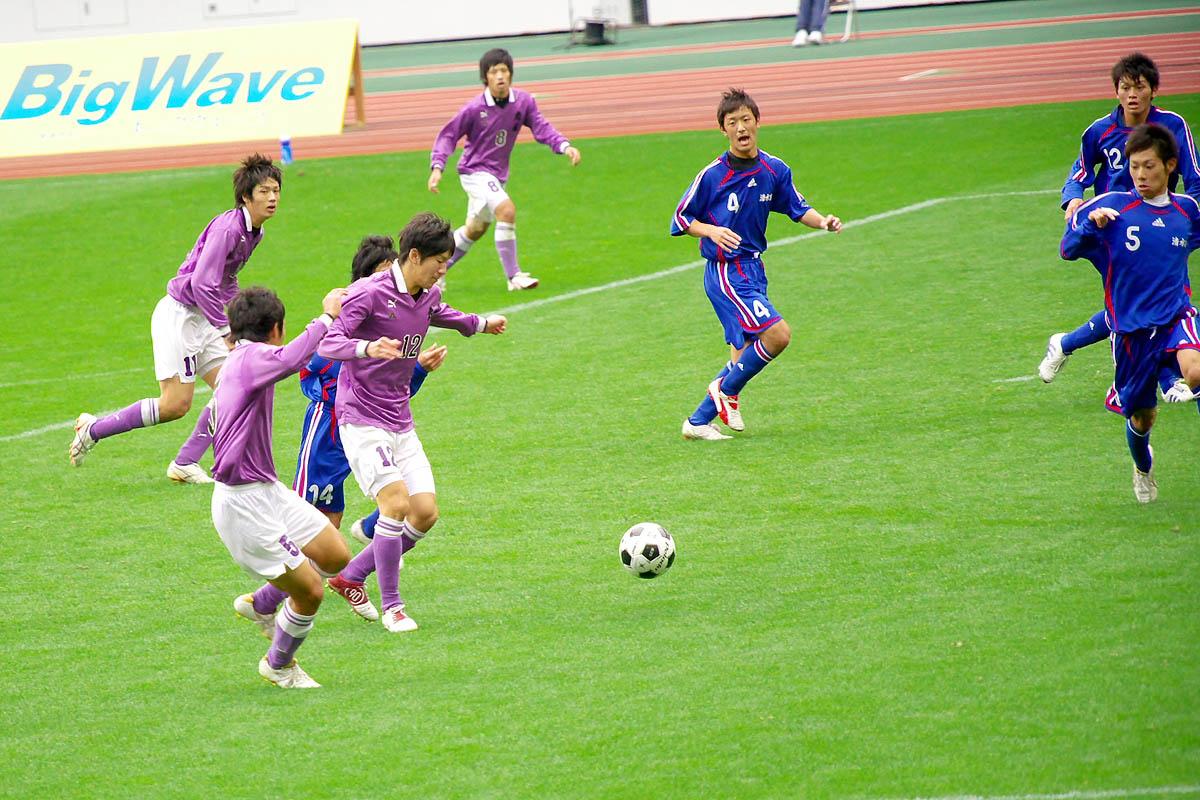第86回 全国高校サッカー選手権大会 静岡 準決勝_f0007684_1243438.jpg