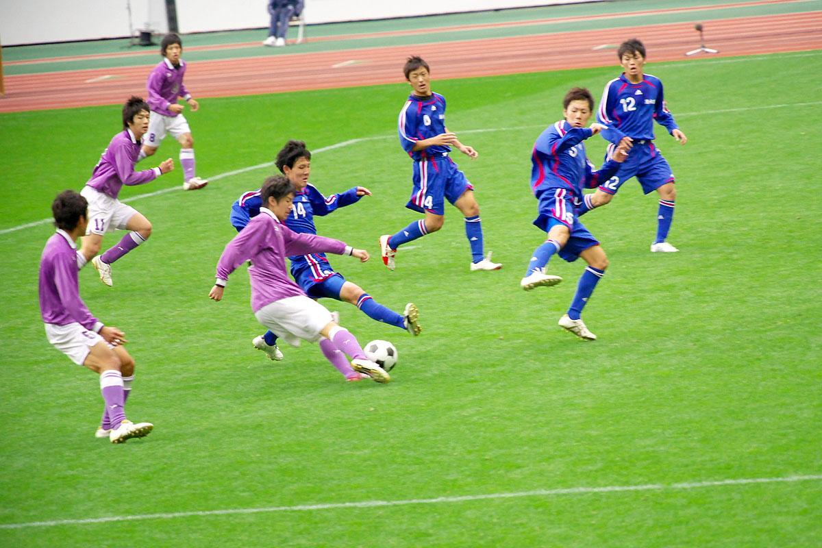 第86回 全国高校サッカー選手権大会 静岡 準決勝_f0007684_1244272.jpg