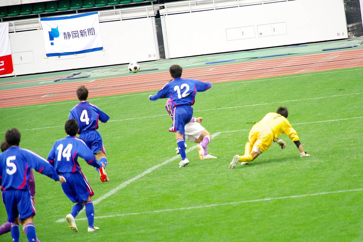 第86回 全国高校サッカー選手権大会 静岡 準決勝_f0007684_1251383.jpg
