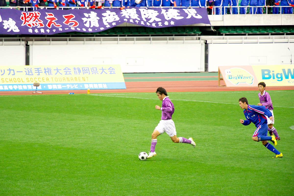 第86回 全国高校サッカー選手権大会 静岡 準決勝_f0007684_12544873.jpg