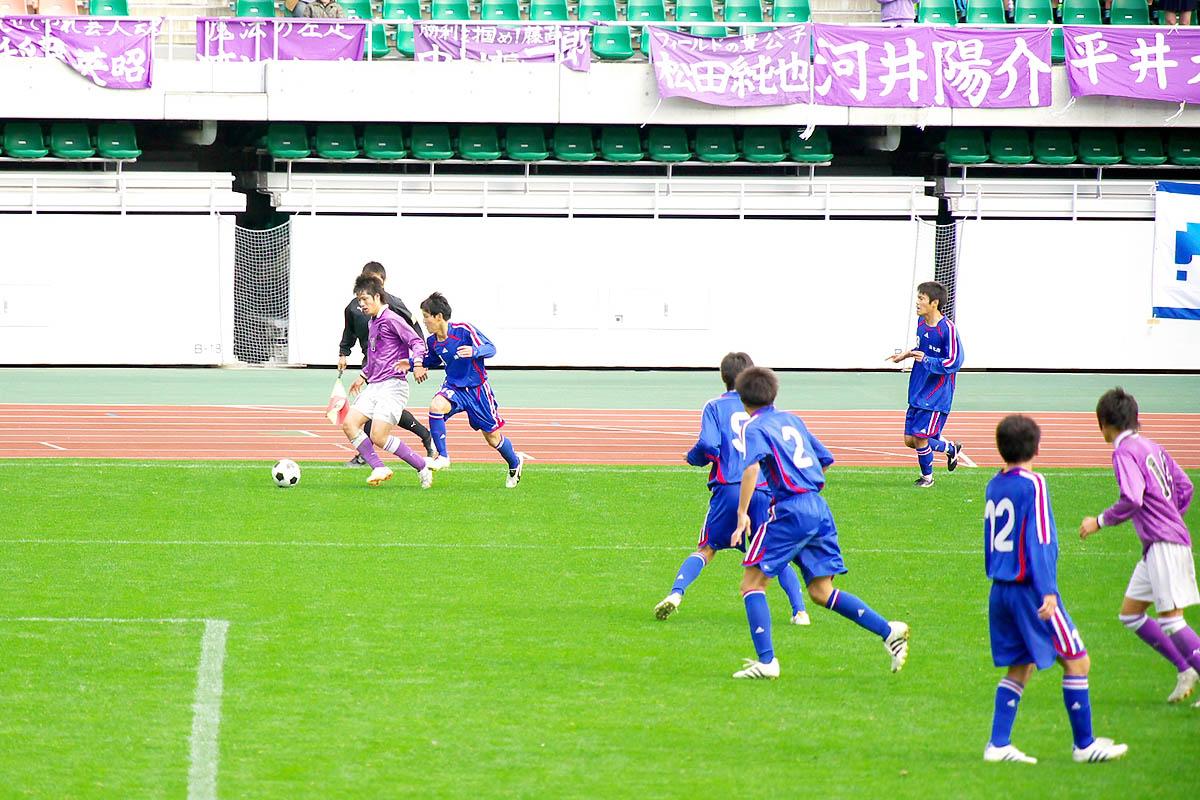 第86回 全国高校サッカー選手権大会 静岡 準決勝_f0007684_12562884.jpg