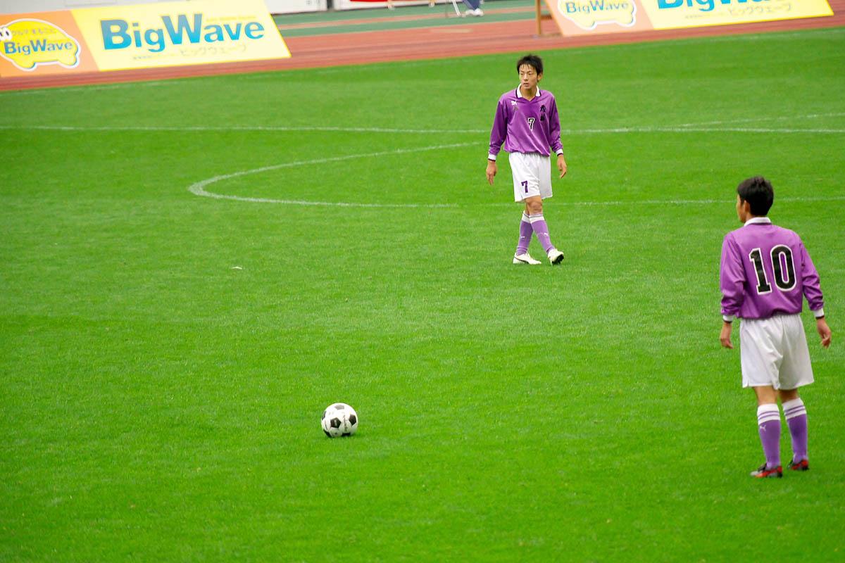 第86回 全国高校サッカー選手権大会 静岡 準決勝_f0007684_1293975.jpg