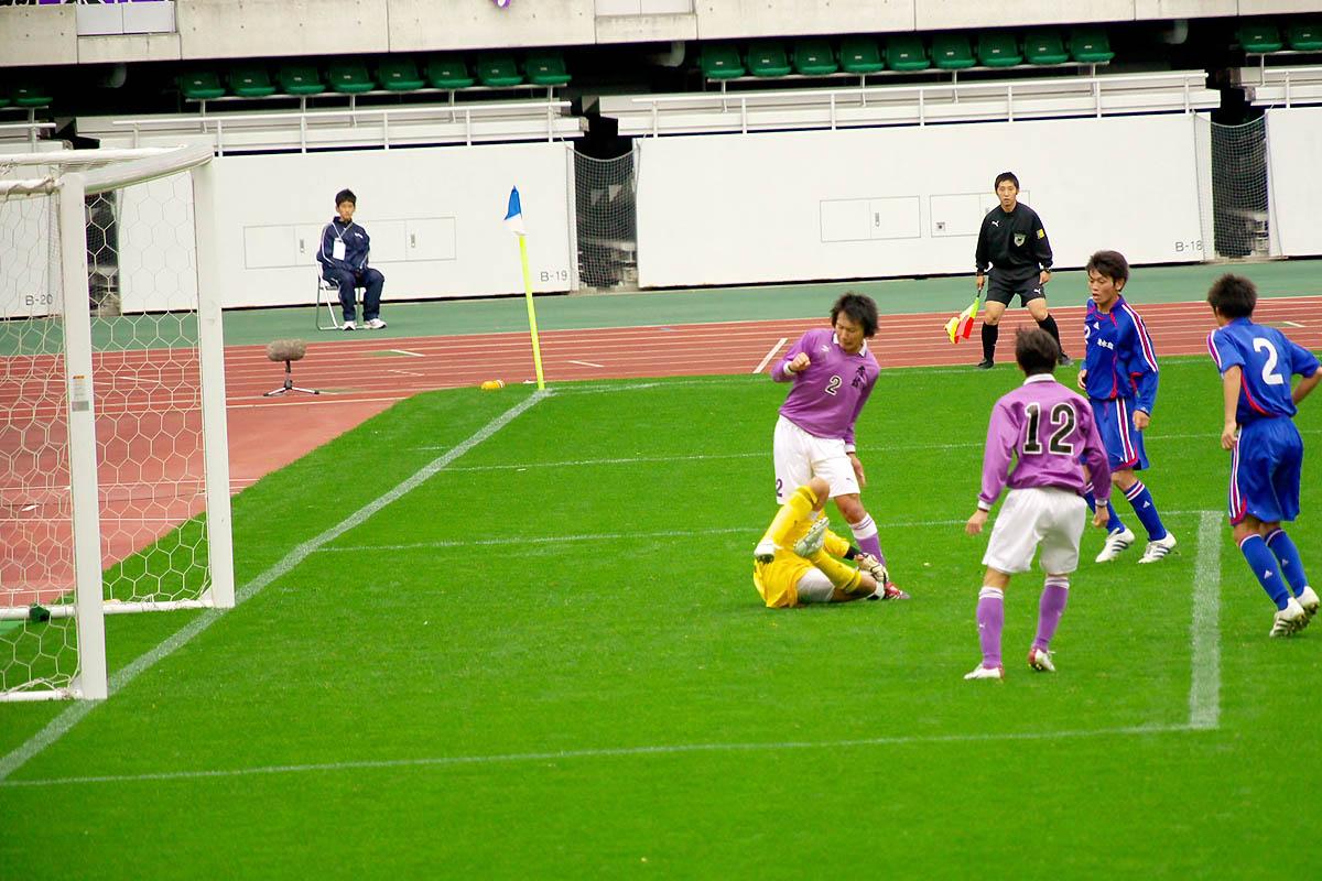 第86回 全国高校サッカー選手権大会 静岡 準決勝_f0007684_1295411.jpg
