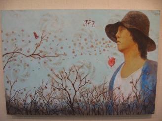 468)②時計台 「第2回 にかわえ展」・日本画  1月7日(月)~1月12日(土) _f0126829_18184317.jpg