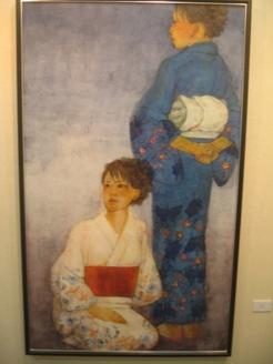468)②時計台 「第2回 にかわえ展」・日本画  1月7日(月)~1月12日(土) _f0126829_18203774.jpg