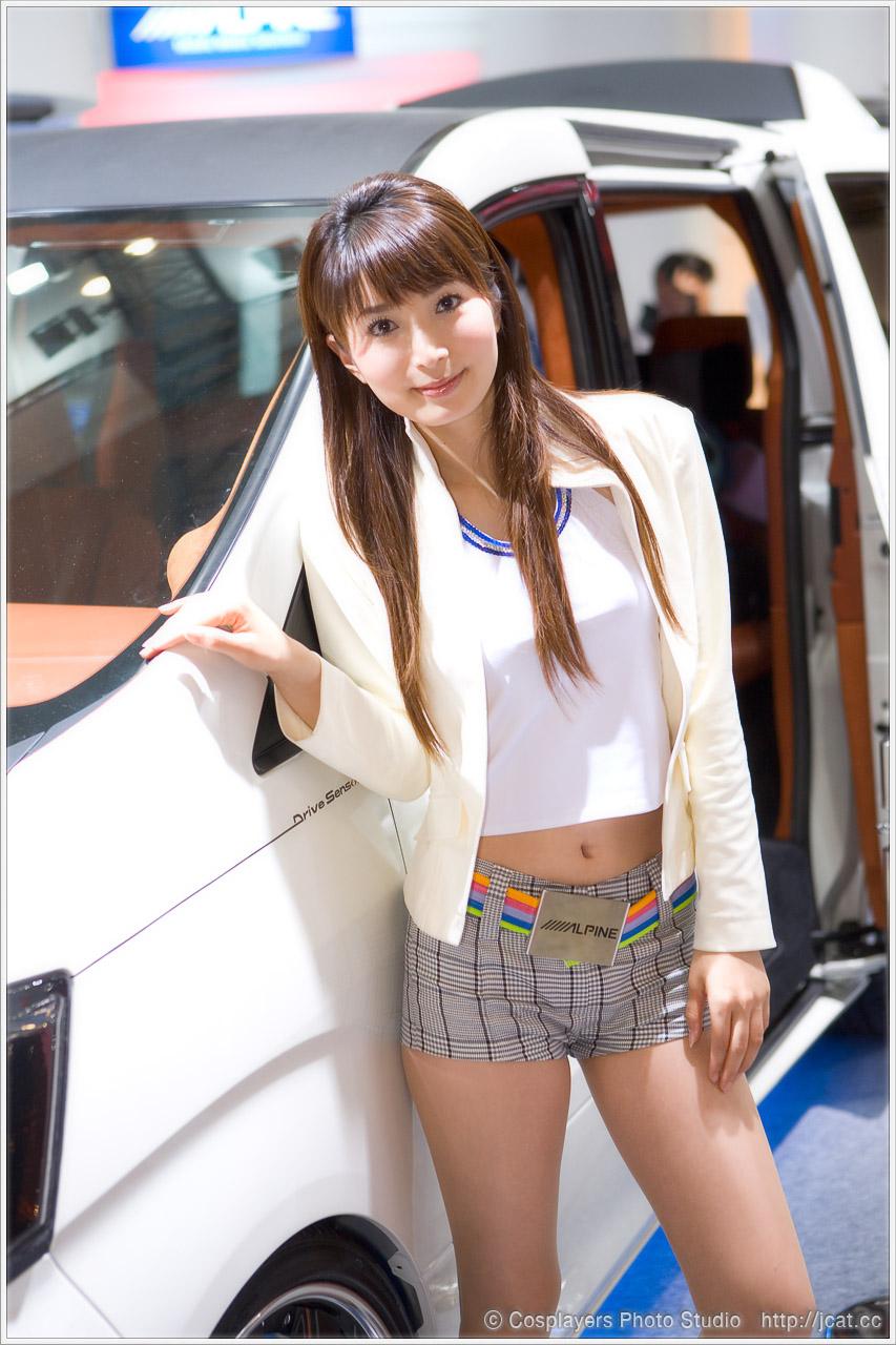 東京オートサロン2008 キャンギャルさん写真いっぱい♪_b0073141_1271964.jpg