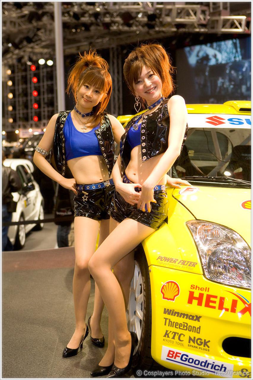 東京オートサロン2008 キャンギャルさん写真いっぱい♪_b0073141_1273833.jpg