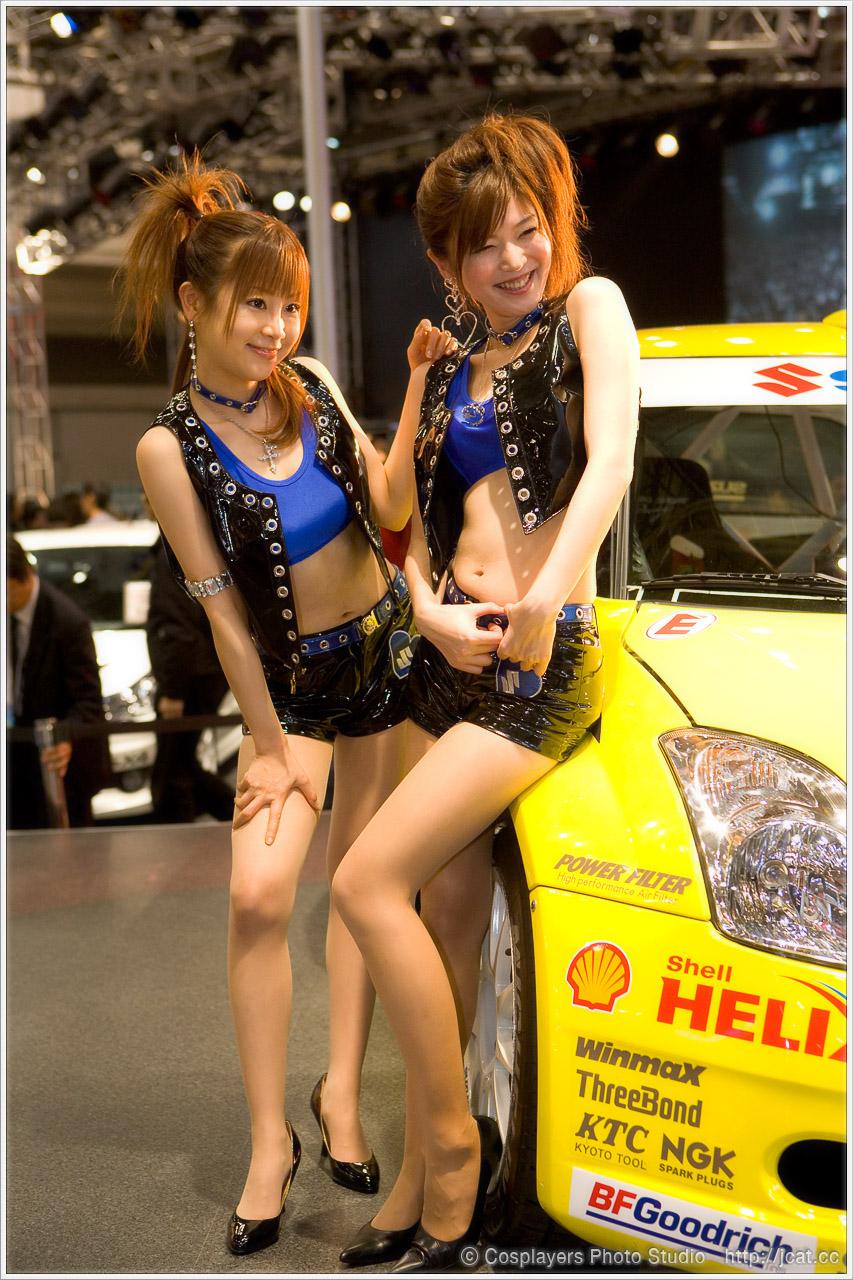 東京オートサロン2008 キャンギャルさん写真いっぱい♪_b0073141_1275484.jpg