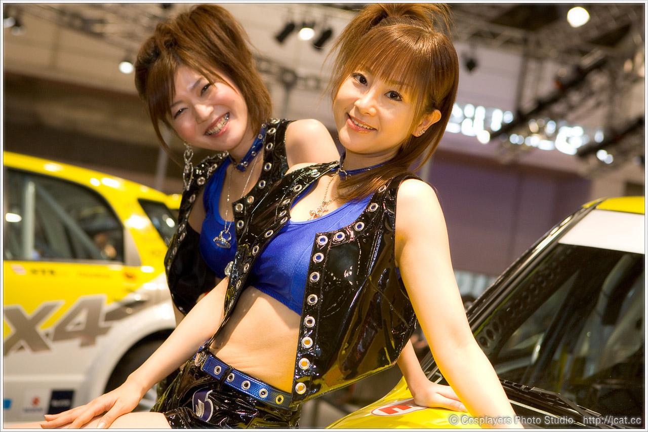東京オートサロン2008 キャンギャルさん写真いっぱい♪_b0073141_1282083.jpg