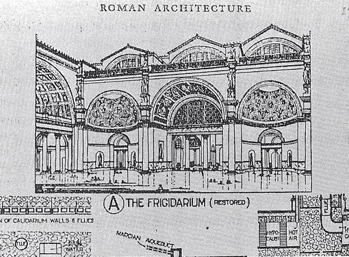 ローマ時代のハイポコースト(床下・壁暖房)4:カラカラ浴場_e0054299_1165756.jpg