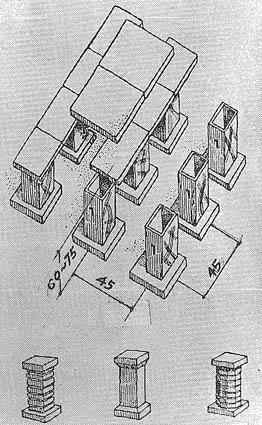 ローマ時代のハイポコースト(床下・壁暖房)4:カラカラ浴場_e0054299_1191180.jpg