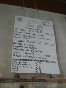 フィレンツェで安くて旨い店を探すなら~サンフレディアーノ地区_f0106597_17515010.jpg