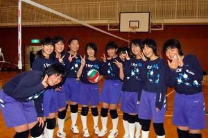 中学生バレーボール教室③_d0010630_16465426.jpg