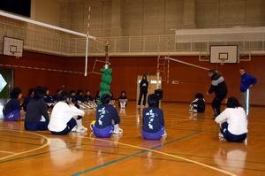 中学生バレーボール教室③_d0010630_1715283.jpg
