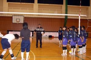 中学生バレーボール教室③_d0010630_1721162.jpg