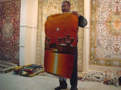 おもしろかったカーペット屋のトーク@エジプト_d0100880_20541146.jpg