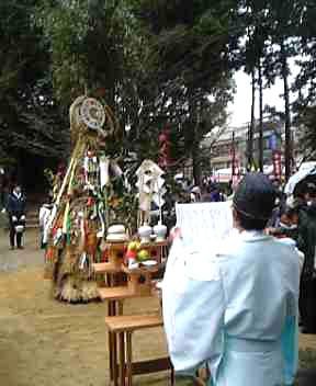 新熊野(いまくまの)神社 左義長祭_e0048413_2063882.jpg