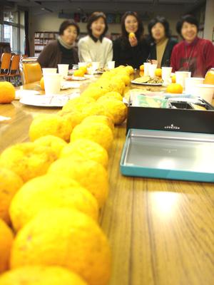 柚子の香りにつつまれて、新年の懇親会_a0094959_19552643.jpg