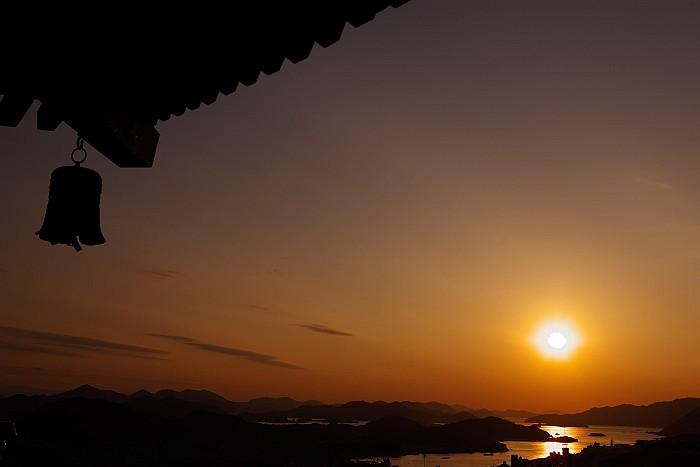 浄土寺山より暮れ行く尾道水道_c0152379_6562195.jpg