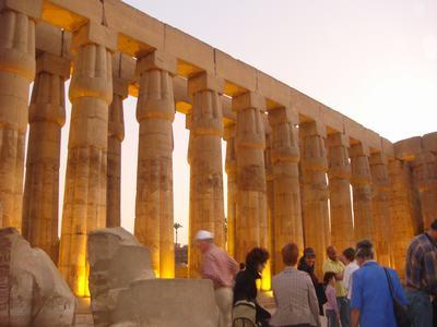 最後に訪ねたルクソール神殿(Luxor Temple)_d0100880_22404035.jpg