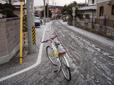 通年ツーキニスト目指して・・・雪道は辛いっす!_b0074601_23163147.jpg