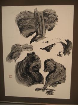 477) アートスペース201 「書と絵の五人展ー堤艽野・個展」・書 終了・1月10日(木)~1月15日(火)_f0126829_1154954.jpg