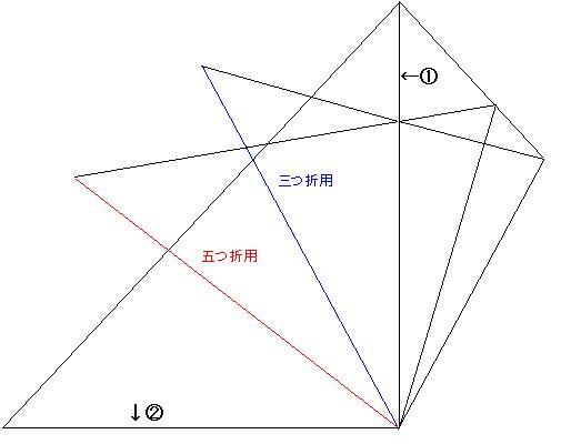 簡単 折り紙 折り紙 雪の結晶 切り方 : divulgando.net