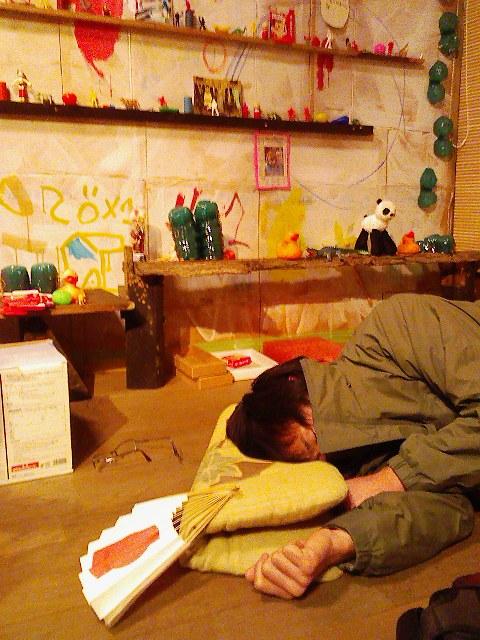 【展覧会場】あっぱれ!?オーバのお茶の間「祭りの後」_c0147000_20432869.jpg