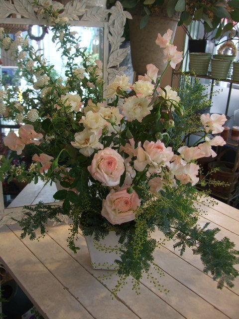 オークリーフ花の教室(姉妹の土曜日)_f0049672_16313120.jpg