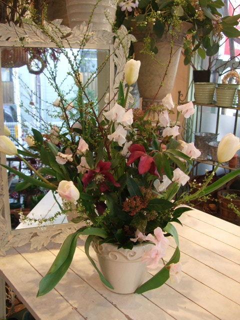 オークリーフ花の教室(姉妹の土曜日)_f0049672_178118.jpg