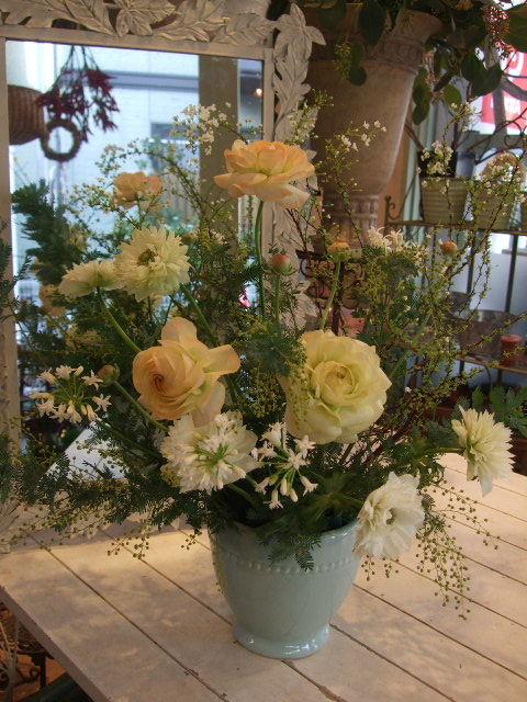 オークリーフ花の教室(姉妹の土曜日)_f0049672_179888.jpg