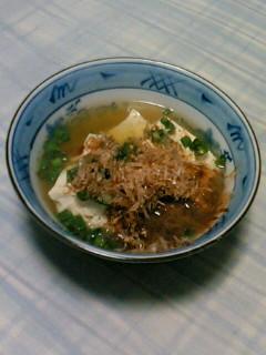 湯豆腐_d0144184_0142119.jpg