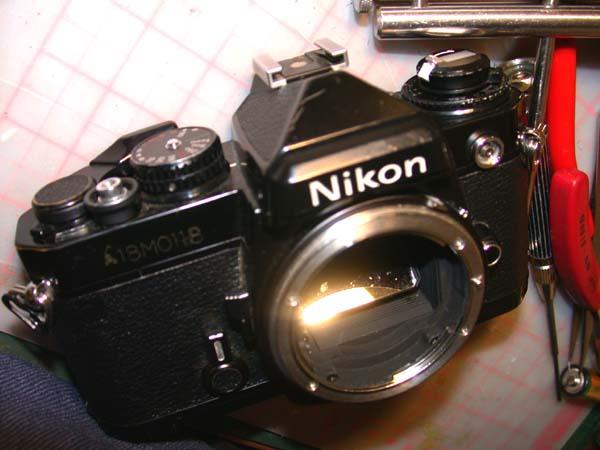 Nikon FE分解掃除(添付写真3枚)   mentenin_d0138130_1204089.jpg