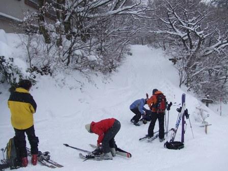 大山、山スキー 参加6名_d0007657_1912024.jpg