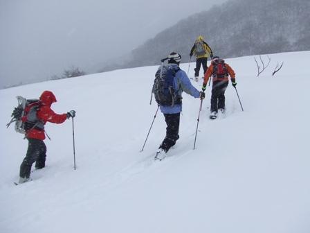大山、山スキー 参加6名_d0007657_19131662.jpg
