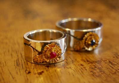 ゴールドな薔薇のペアリング_f0155891_19391991.jpg