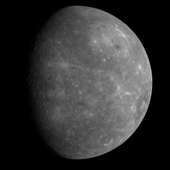 ★水星のクレーターを米探査機撮影!!写真を公開 ( ̄ー ̄)_a0028694_13521716.jpg