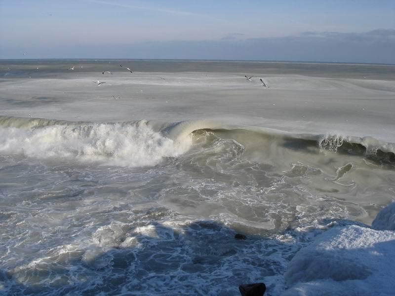 ★写真トリビア⇒南アフリカ ケープタウンの海が凍った!!(゚゚;)_a0028694_15194545.jpg