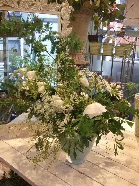 オークリーフ花の教室(望月さんの作品)_f0049672_1420326.jpg