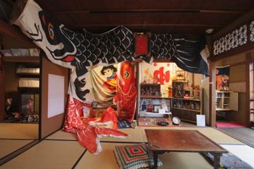 【展覧会場】吉田りえさんと中山喜代子さんのお茶の間紹介_c0147000_15445523.jpg