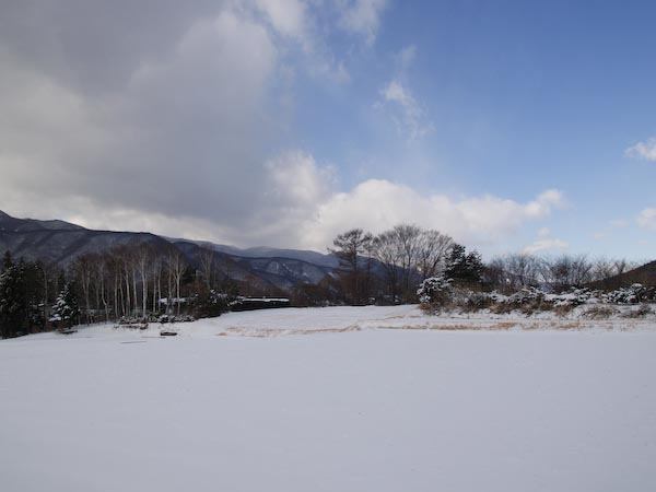 この冬初の雪景色_c0137403_1942836.jpg