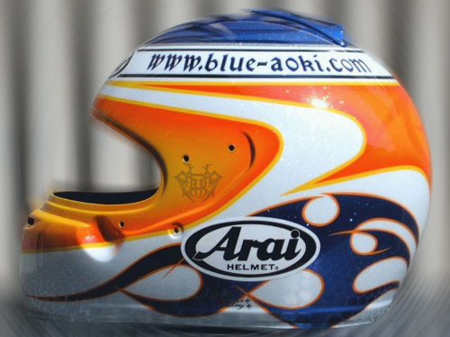 Super GT Racer AOKI \'BLUE\' TAKAYUKI_d0130115_2139237.jpg