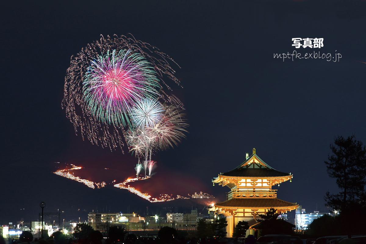 奈良 若草山 山焼き 2008_f0021869_1181666.jpg