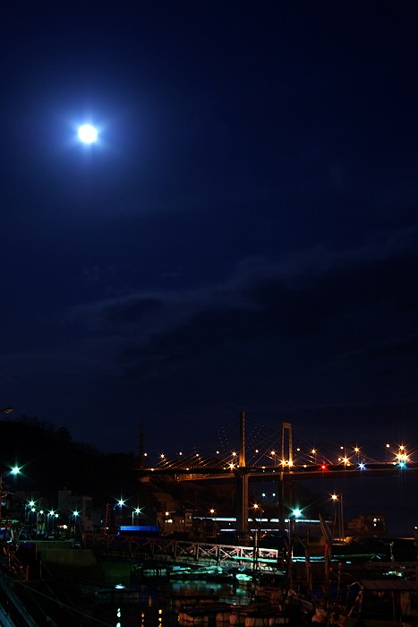 月光が奏でる尾道水道_c0152379_6255831.jpg