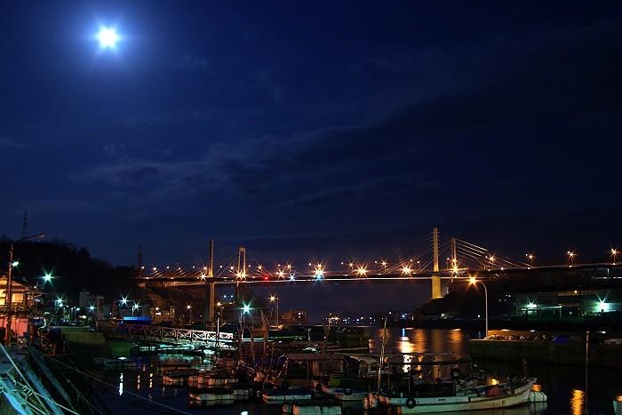 月光が奏でる尾道水道_c0152379_6261482.jpg