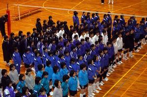 平成19年度中学生新人大会東濃予選会【バレー】_d0010630_17273150.jpg