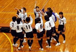 平成19年度中学生新人大会東濃予選会【バレー】_d0010630_17313510.jpg